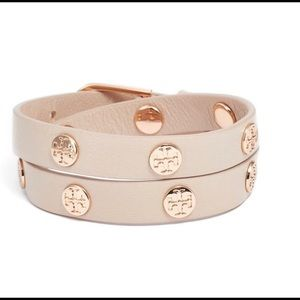 Double Wrap Logo Bracelet